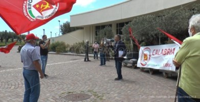 Esponenti di Rifondazione comunista alla Cittadella