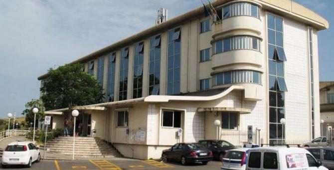 Il palazzo della Provincia di Vibo Valentia