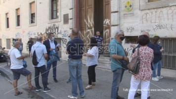 Presidio sindacale davanti l'Asp di Cosenza