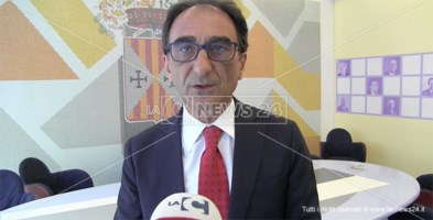 Il presidente della Provincia di Catanzaro Sergio Abramo
