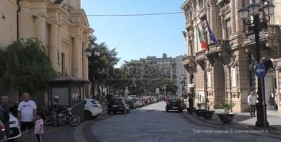 Uno scorcio di corso Mazzini a Catanzaro