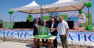 La consegna della Bandiera Verde al sindaco di Crosia