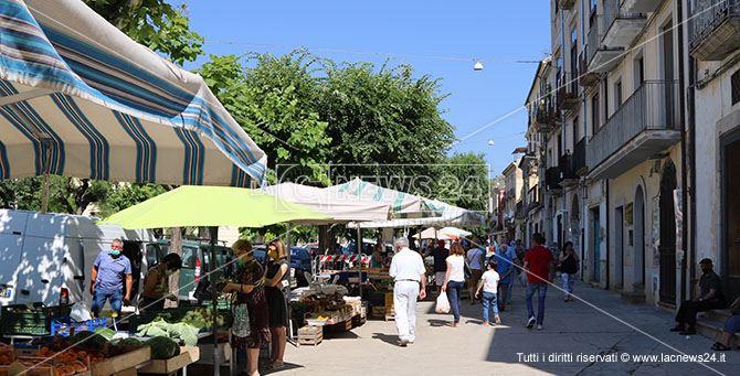 Il mercato ortofrutticolo di Castrovillari