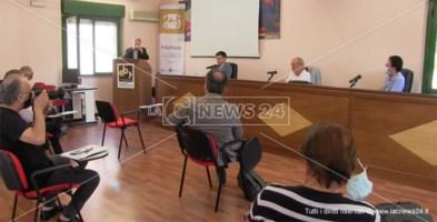 Un momento della conferenza che si è tenuta nella sede dell'Ebac a Catanzaro