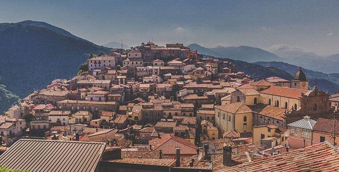 Mormanno, panoramica del borgo
