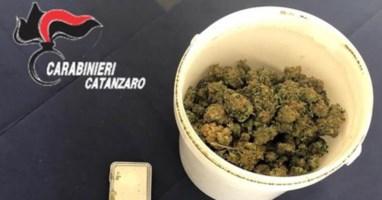La marijuana rinvenuta