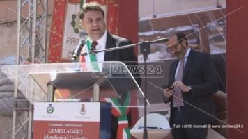 Ecodistretto, Mendicino si candida. Il sindaco Palermo: «Realizziamolo qui»