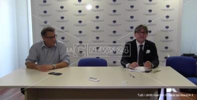 Alberto Tiriolo e Pietro Falbo nella sede regionale di Confcommercio