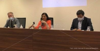 Gianluca Gallo, Jole Santelli e Fausto Orsomarso