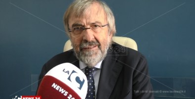 Il commissario straordinario dell'azienda universitaria Mater Domini, Giuseppe Zuccatelli
