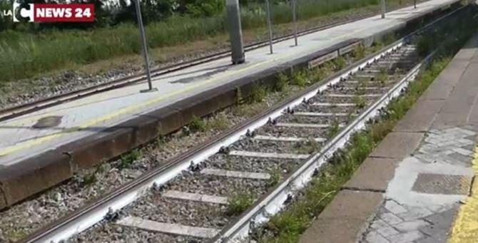 Binari ferroviari - immagini di repertorio