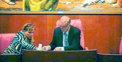 Maria Stefania Lauria e Domenico Tallini