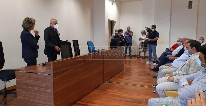 L'incontro dei sindaci del Vibonese con l'assessore De Caprio