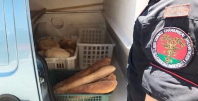 Produzione e vendita abusiva, sequestrati due quintali di pane nel Cosentino