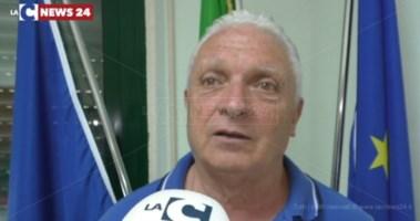 Il sindaco di San Luca De Bartolo