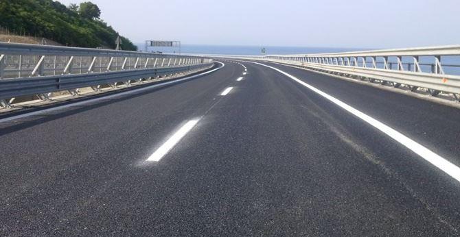 Un tratto dell'autostrada A2 (foto dal sito Anas)