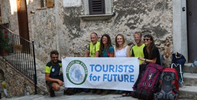 Il team di Tourist 4 Future con Antonella Vincenzi
