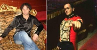 Alex Orfei e la vittima Werner De Bianchi