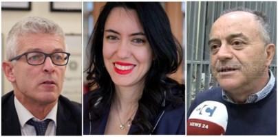 Nicola Morra, Lucia Azzolina e Nicola Gratteri