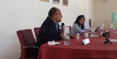 Campi estivi nei beni confiscati, a Locri il ministro dell'Istruzione Azzolina: «Lo Stato c'è»