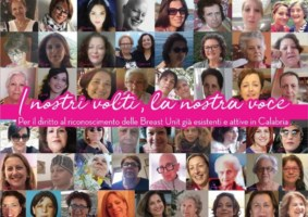 Istituire un centro di senologia in Calabria, Donne per le donne si mobilita