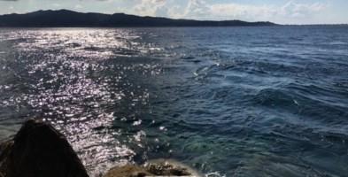 Il tratto di mare dove sarebbe avvenuto il salvataggio
