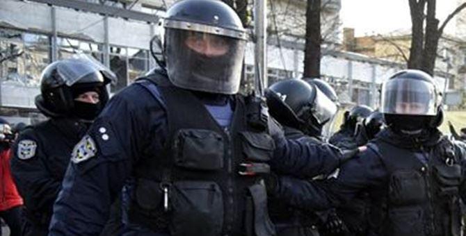 Polizia ucraina - foto di repertorio da Adnkronos