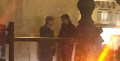 Da sinistra Mangialavori e Francesco De Nisi (Fratello del sindaco di Filadelfia) in un incontro a Roma