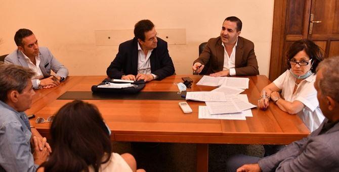 L'incontro nella sede dell'Asp di Reggio