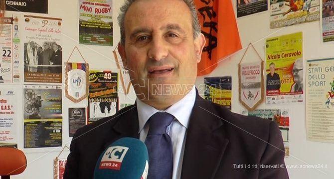 L'ex assessore allo Sport del Comune di Catanzaro, Giampaolo Mungo