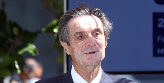 Il governatore della Lombardia Attilio Fontana (foto Ansa)