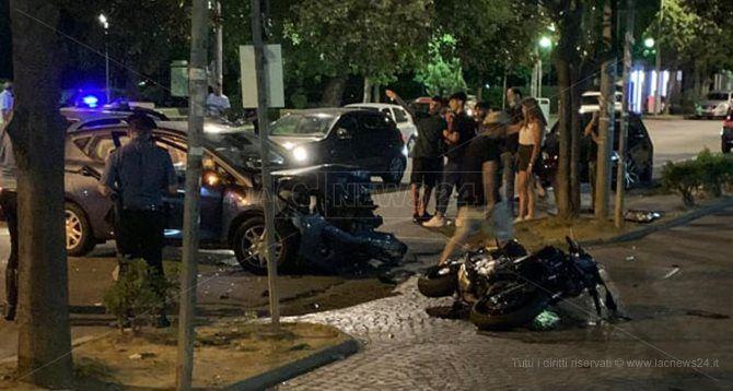 Incidente stradale a Commenda di Rende