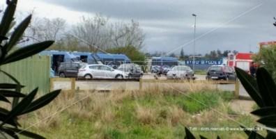 Disordini tendopoli San Ferdinando, 9 migranti accusati di danneggiamento