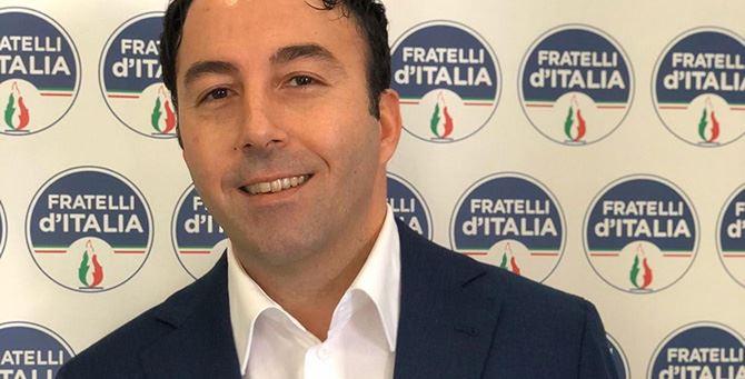 Luca Morrone, consigliere regionale di Fratelli d'Italia