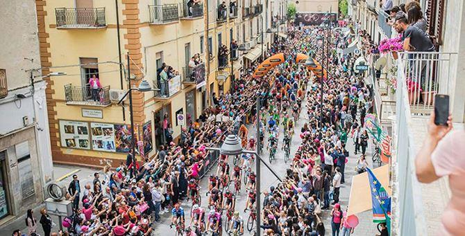 L'edizione 100 del Giro d'Italia a Castrovillari