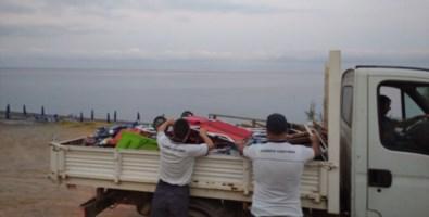 Lidi abusivi, blitz della Guardia costiera di Cetraro nella Riviera dei Cedri