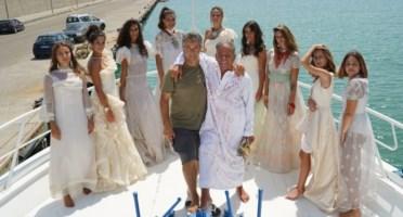 Cariati, il fashion designer Claudio Greco omaggia Nettuno con le sue spose