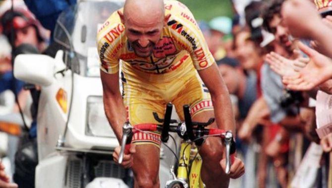Il campione di ciclismo, Marco Pantani