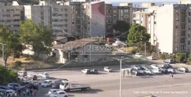 Il quartiere Aranceto di Catanzaro durante la bonifica