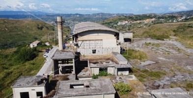l'ex cementificio di rione De Filippis a Catanzaro che sarà demolito
