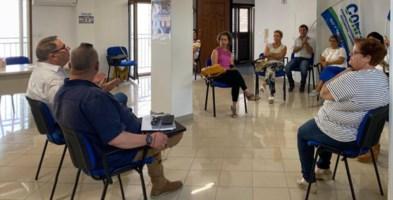 Una riunione sindacale dei lavoratori di Osas Campoverde