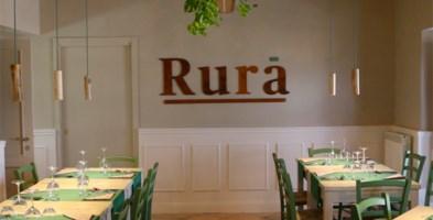 La sala ristorante di Rurà