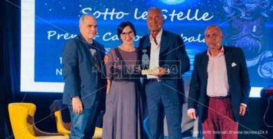 Da sinistra, Victor e Daniela Rambaldi, Grabriele Gravina e Giuseppe Lombardi