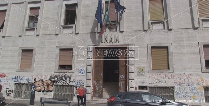 La sede dell'Asp di Cosenza