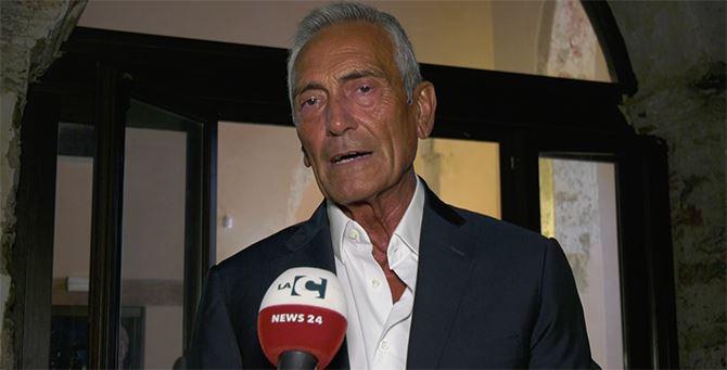 Il presidente nazionale della Figc Gabriele Gravina