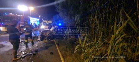 Incidente a Gizzeria sulla statale 18: quattro feriti, c'è anche un bambino