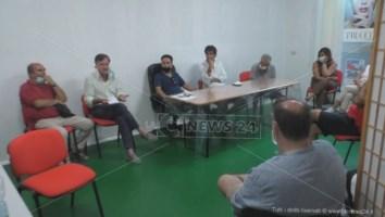 La riunione di ieri a Soverato