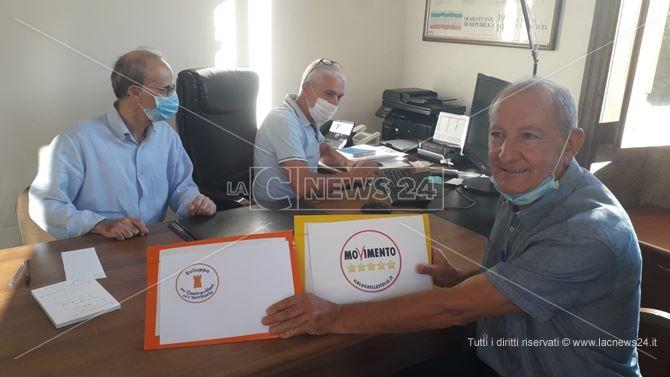 Il candidato a sindaco Campanella presenta le due liste a suo sostegno