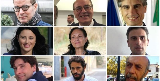 I 9 candidati a sindaco di Reggio Calabria