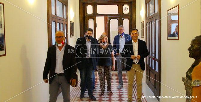 Fratelli d'Italia accompagna Giancarlo Lamensa in comune per la presentazione delle liste